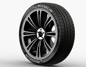 Wheel Rim car 01 3D model
