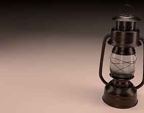 3D illuminator Vintage Oil Lamp