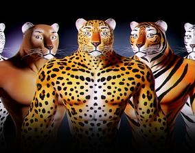 Fantasy Creature Isi-Agu - Male 3D model rigged