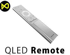 3D model Samsung QLED TV Remote 2017