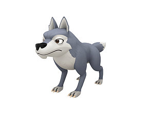 Wolf Character 3D model