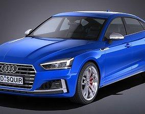 Audi S5 Sportback 2017 3D
