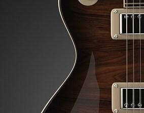 instrument 3D Gibson Les Paul Custom