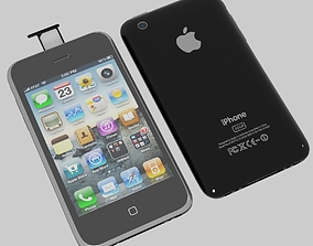 Iphone 3gs 3D model