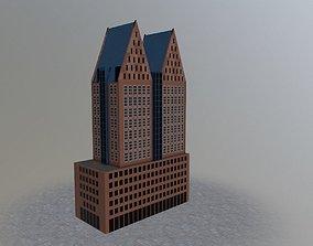 Den Haags Castalia 3D asset