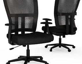 3D model Regency Abbi Black Swivel Chair