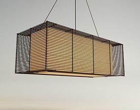 KAI Rectangular Hanging Lamp 3D