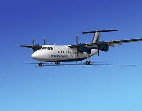 Dehavilland DHC-7 Svenson Charter 3D model