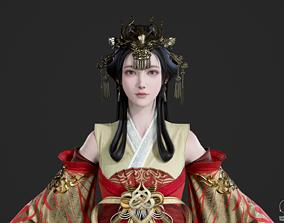 3D asset Chinese beauty Woman Female 5