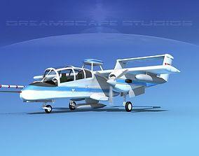 3D Rockwell OV-10 Bronco NASA