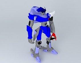 3D model Gekka Pre-Production Test Type