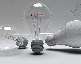 3D animated Lamp Light