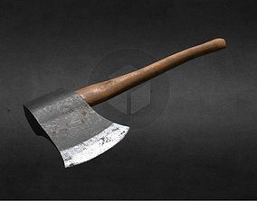 3D model game-ready Hatchet