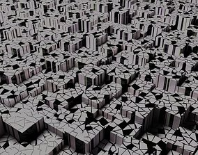 3D model the geometry of the cubes 4