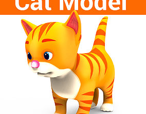 Cute Cat Model realtime