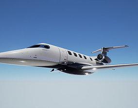 3D asset PBR Embraer Phenom 300 Private Jet