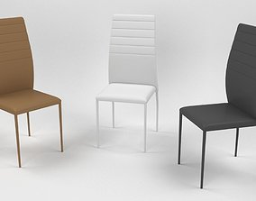 3D model Colombini chair VIRGINIA