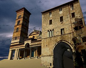 Romanic StyleCathedral 3D model