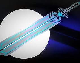 Blue Sword 3D model