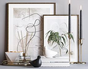 Decorative set 17 3D