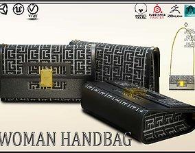 Woman Handbag Balmain 3D asset