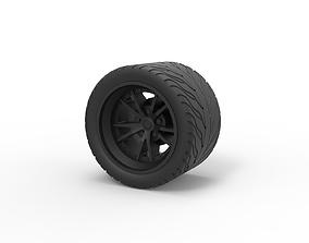 Diecast Sport wheel 8 3D printable model