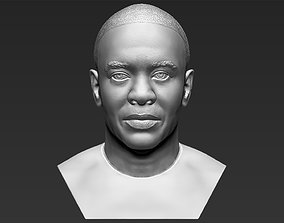Dr Dre bust 3D printing ready stl obj formats celebrity
