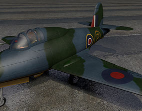 Gloster G-40 Pioneer 3D model