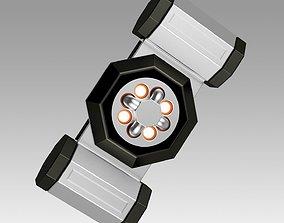 Star Trek Into Darkness Torpedo 3D print model 2