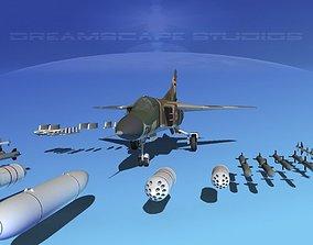 3D model Mig-23 Fighter Syria