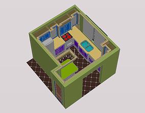 kitchen cookware 3D model