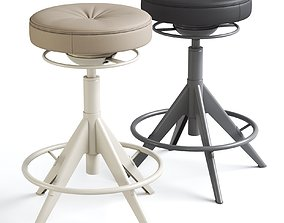 Ikea TROLLBERGET Sit stand support Grann beige and 3D 1