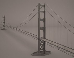 3D Golden gate bridge