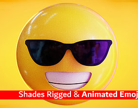3D model Shades or Glasses Animated Emoji Reaction