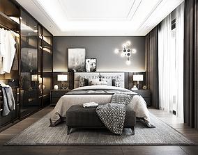 bedroom nice design 3D model