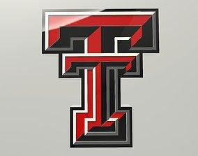Texas Tech University Logo 3D