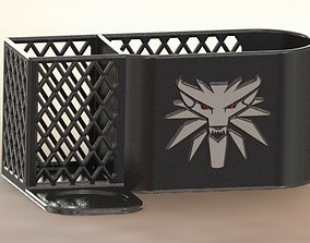 The Witcher desk organizer 3D print model