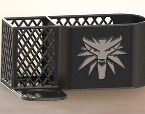 The Witcher desk organizer 3D print model