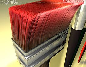 paint brushes model 3D model