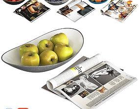 3D Fruit Bowls