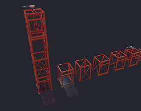 3D model Construction Lift