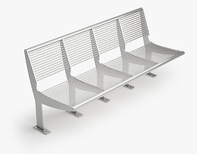 Capri Bench - Type B 3D