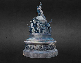 The Millennium of Russia Monument 3D