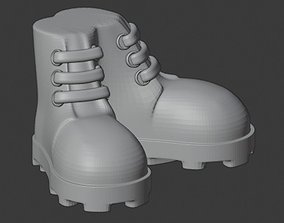 3D print model decorative boot