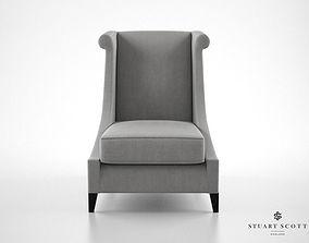 3D model Stuart Scott The Vegas Lounger armchair
