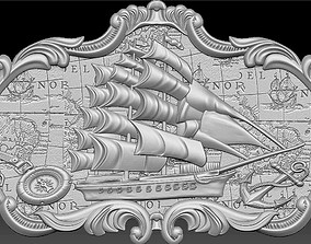 3d STL Model for CNC Router ship