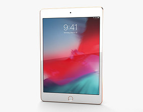 Apple iPad mini 2019 Gold 3D