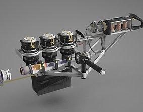 Handmade future lightning guns 3D model