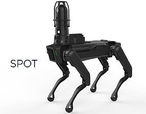 Boston Dynamics Spot Inspection Black 3D