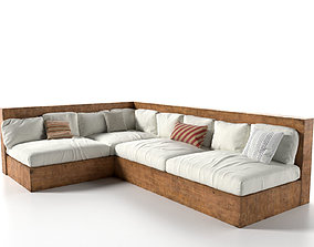 Outdoor Sofa 3D cushion